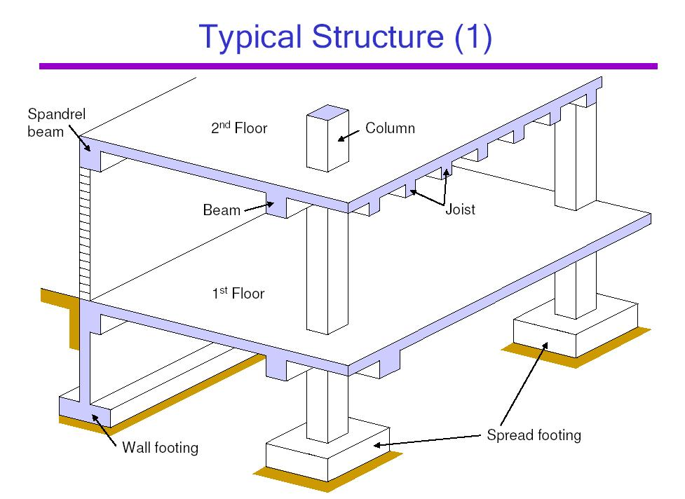 Definition of joists civil engineering terms for Definition construction