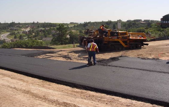 surface course by hot mix asphalt